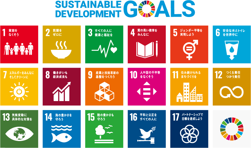 SDGs(持続可能な開発⽬標)
