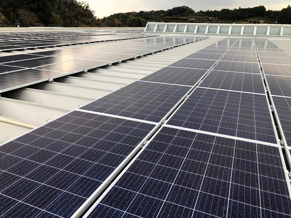 自家消費型太陽光パネル